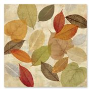 Golden Leaves I Canvas Art by Cynthia Coulter