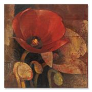 Poppy Reflection Canvas Art by Abena Hristova