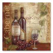 Vintage Wine I Canvas Art by Cynthia Coulter