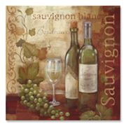 Vintage Wine II Canvas Art by Cynthia Coulter