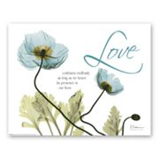 Mineral Blue Poppies Canvas Wall Art by Albert Koetsier