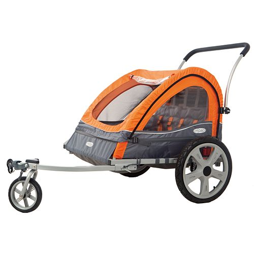 InSTEP Quick N EZ Double Bike Trailer