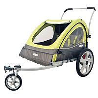 InSTEP Sierra Double Bike Trailer
