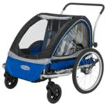 InSTEP Rocket Deluxe Double Bike Trailer