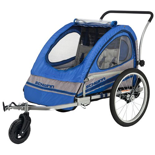 schwinn bike trailer instructions