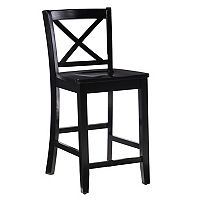 Linon X-Back Counter Stool