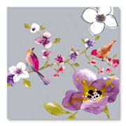 Blossom Birds I Canvas Wall Art by Sandra Jacobs