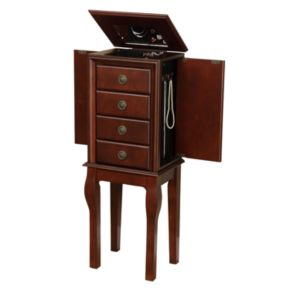 Linon Diamond Jewelry Armoire