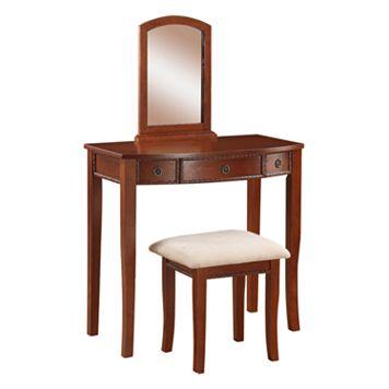 Linon Molly 2-pc. Vanity Set