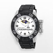 Game Time Beast Series Baltimore Ravens Super Bowl XLVII Champions Stainless Steel Watch - NFL-BEA-BAL-CH13 - Men