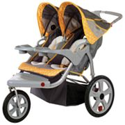 InSTEP Grand Safari Swivel Jogger Stroller - Double