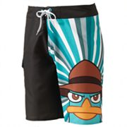 Phineas and Ferb Agent Perry Swim Trunks - Men