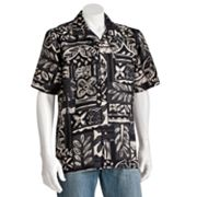 Batik Bay Silk Floral Casual Button-Down Shirt - Big and Tall