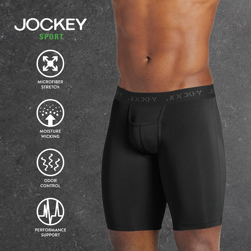 Men's Jockey 2-pk. Sport Microfiber Performance Midway Briefs