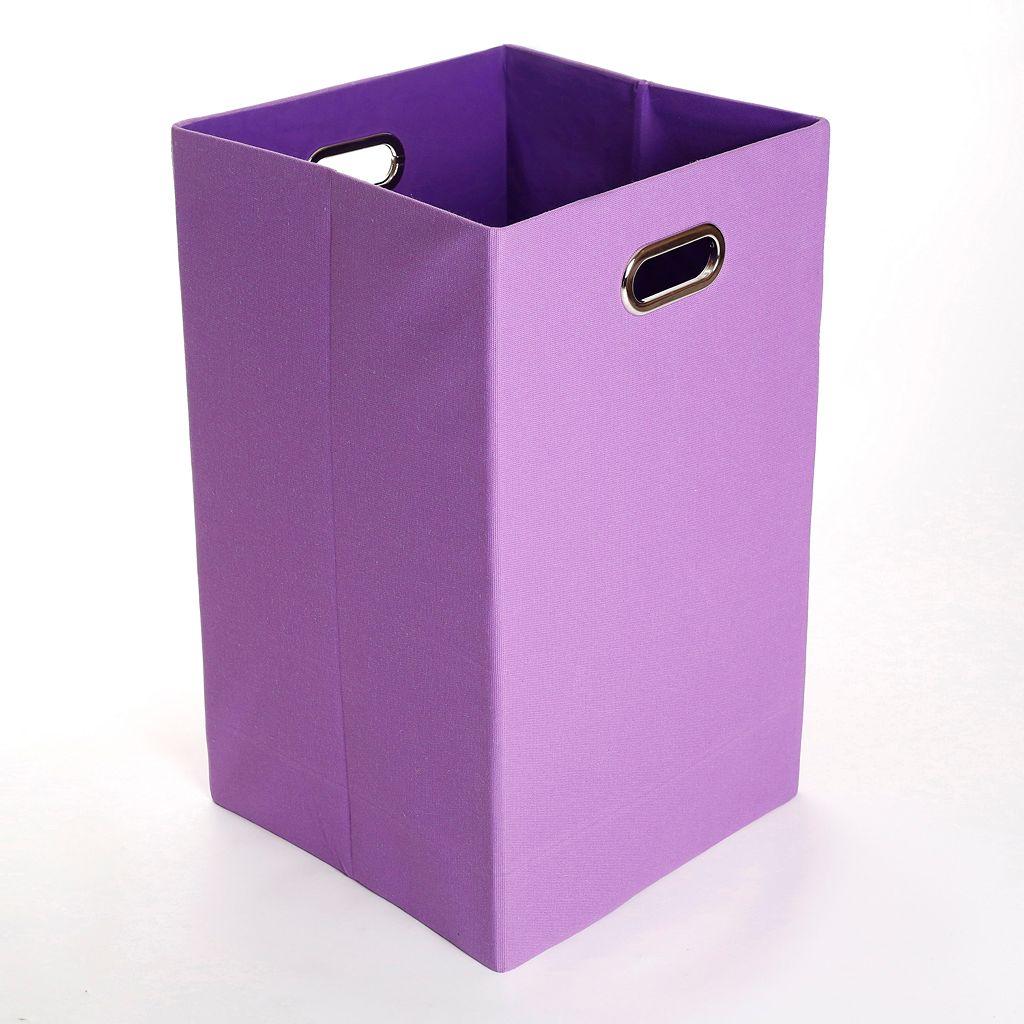 Modern Littles Color Pop Solid Folding Laundry Bin