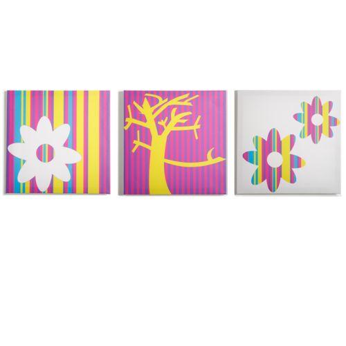 Modern Littles 3-pc. Color Pop Nature Wall Art Set