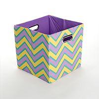 GiggleDots Sweets Zigzag Folding Storage Bin