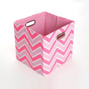 Modern Littles Rose Zigzag Folding Storage Bin
