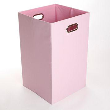 Modern Littles Rose Solid Folding Laundry Bin