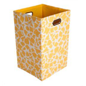 Modern Littles Rusty Giraffe Folding Laundry Bin