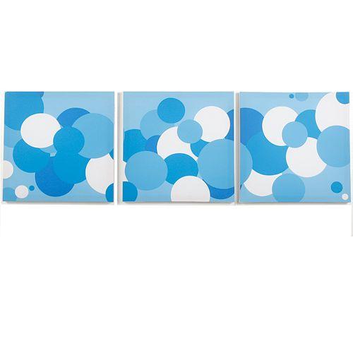 Modern Littles 3-pc. Sky Bubbles Wall Art Set