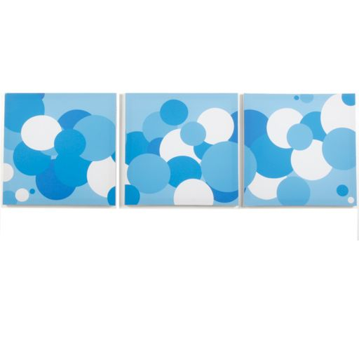 Modern Littles 3-pc. Sky Bubbles Wall Art Set
