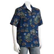 Batik Bay Tropical Casual Button-Down Shirt - Big and Tall