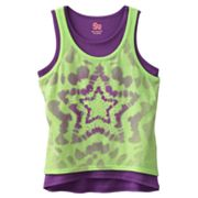 SO Star Neon Hi-Low Tank Set - Girls 7-16