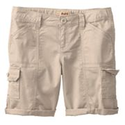 Mudd Cargo Bermuda Shorts - Girls 7-16