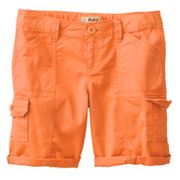 Mudd Cargo Bermuda Shorts - Girls Plus