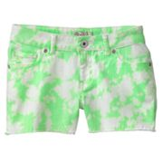 SO Tie-Dye Denim Shorts - Girls Plus