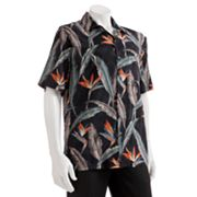 Batik Bay Rayon Tropical Casual Button-Down Shirt - Big and Tall