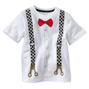 Jumping Beans Suspenders Tee - Toddler
