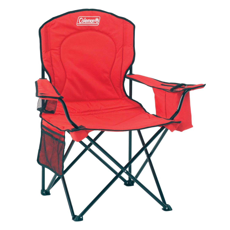 Coleman Oversize Quad Chair with Cooler  sc 1 st  Kohlu0027s & Coleman Folding Chairs Camping u0026 Hiking | Kohlu0027s