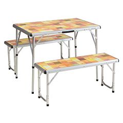 Coleman Pack-Away Picnic Table by