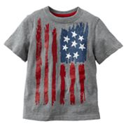 Jumping Beans American Flag Tee - Toddler
