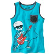 Jumping Beans Skeleton Guitarist Tank - Boys 4-7x
