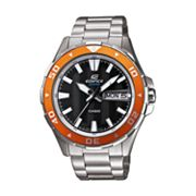Casio Edifice Marine Stainless Steel Dive Watch - EFM100D-1A4V - Men
