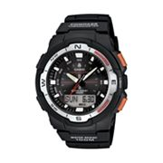 Casio Twin Sensor World Time Analog and Digital Compass and Chronograph Watch - SGW500H-1BV - Men