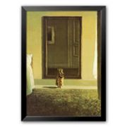 Art.com Bunny Dressing Framed Art Print By Michael Sowa