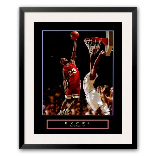 Art.com Excel – Basketball Framed Art Print