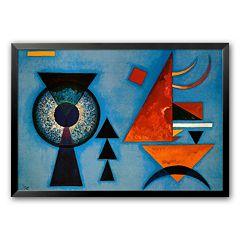 Art.com 'Weiches Hart' Framed Art Print By Wassily Kandinsky