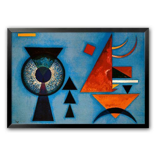 """Art.com """"Weiches Hart"""" Framed Art Print By Wassily Kandinsky"""