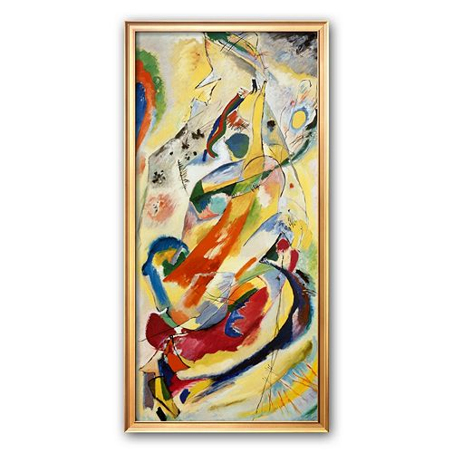 Art.com Painting Number 200 Framed Art Print by Wassily Kandinsky