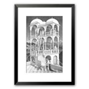 Art.com Belvedere Framed Art Print by M.C. Escher