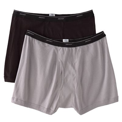Jockey Classic Midthigh 2-pk. Boxer Briefs - Big and Tall