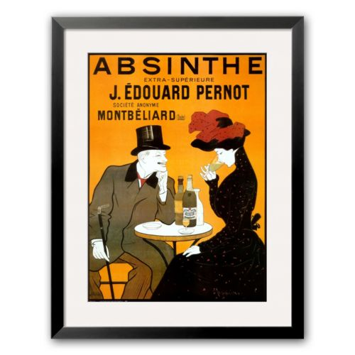 Art.com Absinthe Berthelot Framed Art Print by Leonetto Cappiello