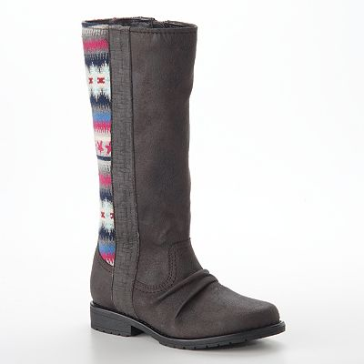 Mudd Tall Boots - Girls