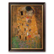 Art.com The Kiss, c.1907 Framed Art Print by Gustav Klimt