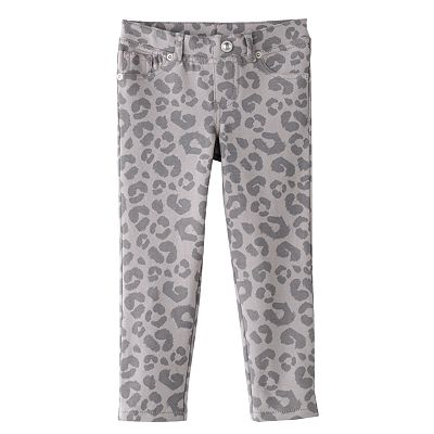 SONOMA life + style Cheetah Knit Jeggings - Toddler